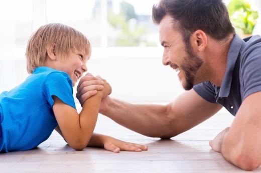 Пять идей для веселых семейных соревнований