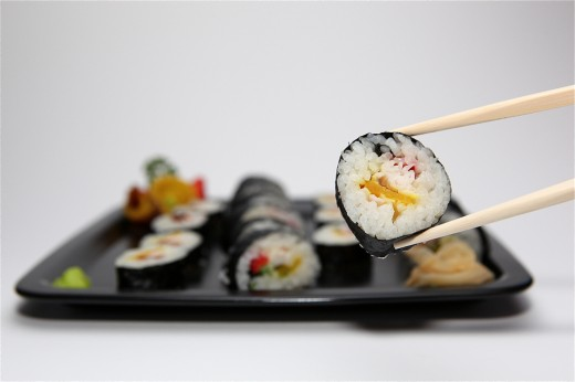 Как похудеть с помощью суши
