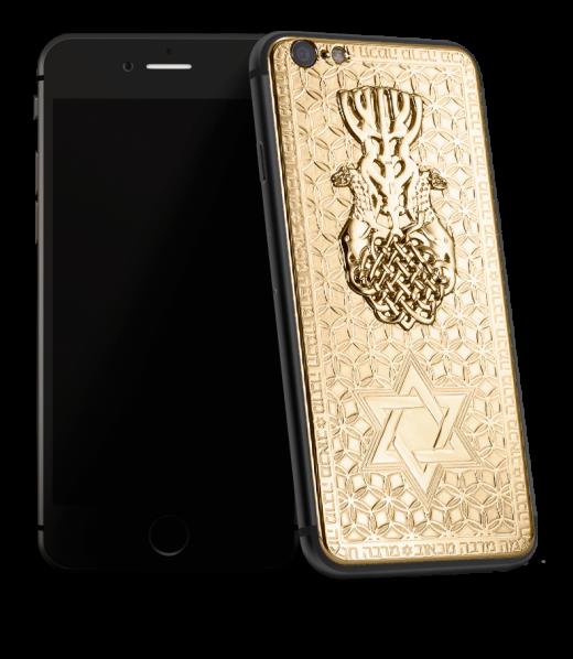 Ювелиры Caviar создали iPhone со «Звездой Давида»