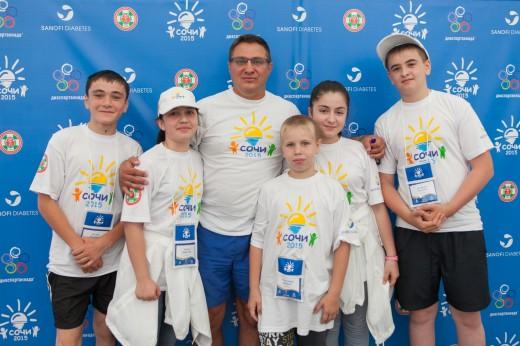Российская диабетическая ассоциация и Санофи открыли VI Диаспартакиаду для детей и подростков с сахарным диабетом