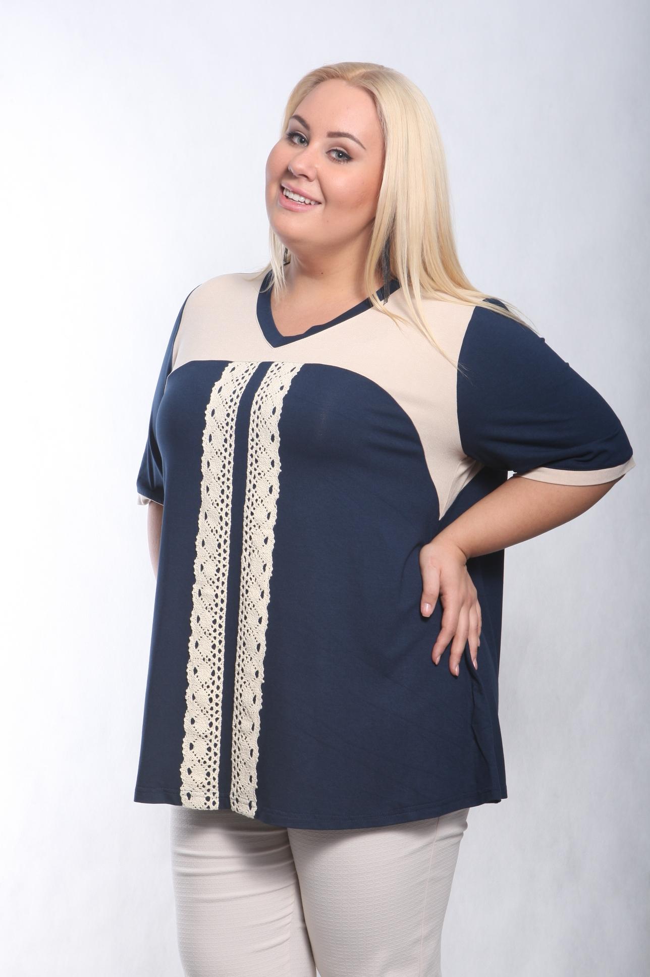 Блузки большого размера – как правильно подобрать