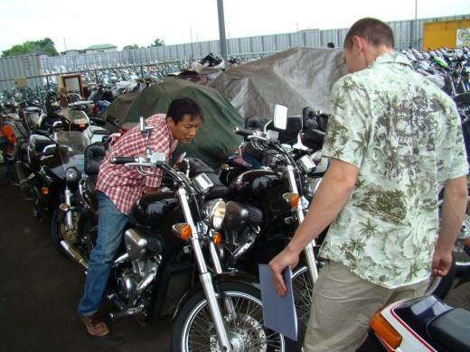 Как осмотреть б/у мотоцикл перед покупкой