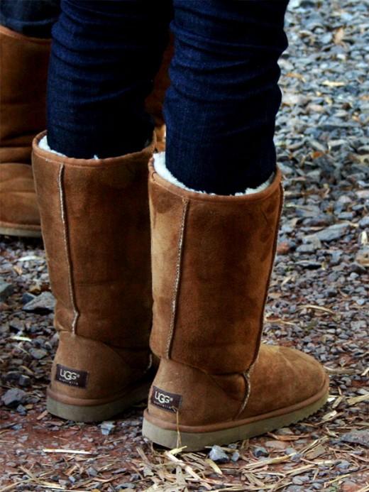 Лучшая обувь для зимы – угги