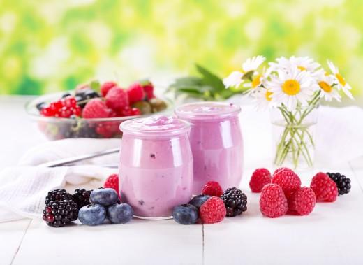 Йогурт в борьбе с хроническим увеличением веса