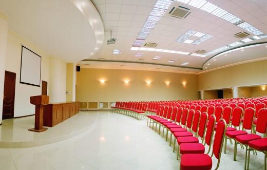 Бронирование зала для конференций
