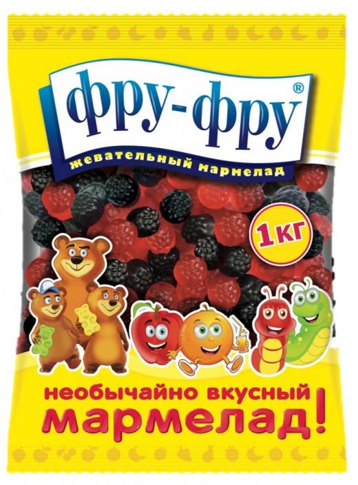 Мармеладные ягодки Фру-Фру: представлена новинка от ГК Сладкая Сказка