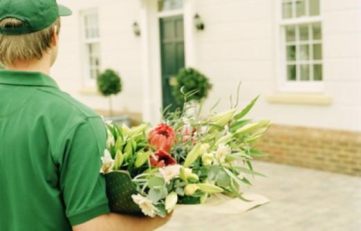 Услуга доставки цветов в другой город