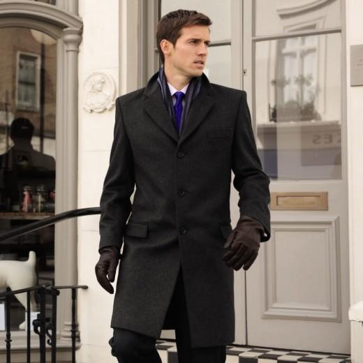 Как нужно выбирать мужское пальто?
