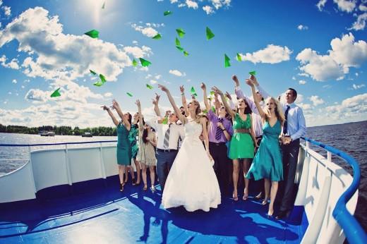 Чем интересна свадьба на теплоходе