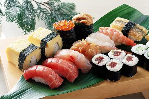 Суши — рецепт долголетия