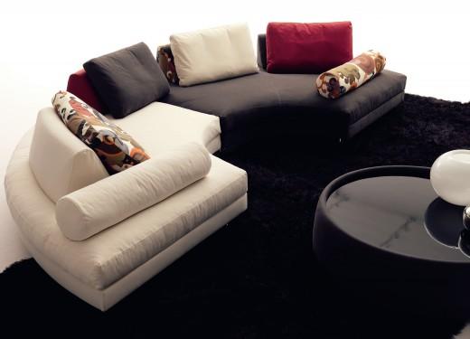 авторский диван для отеля