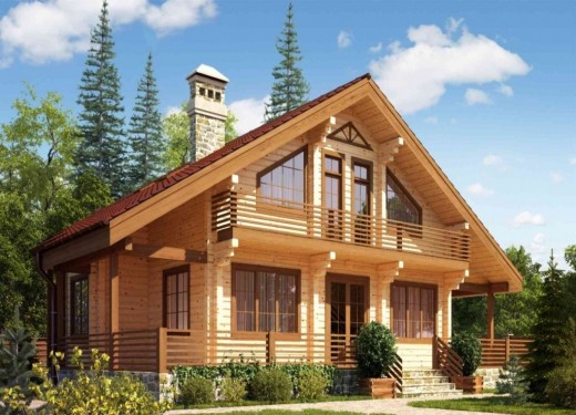 Преимущества строительства домов из бруса