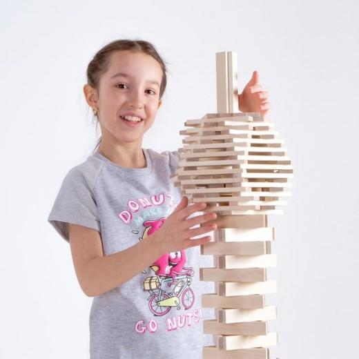 Конструктор из дерева – новый тип игрушки, интересный большинству детей