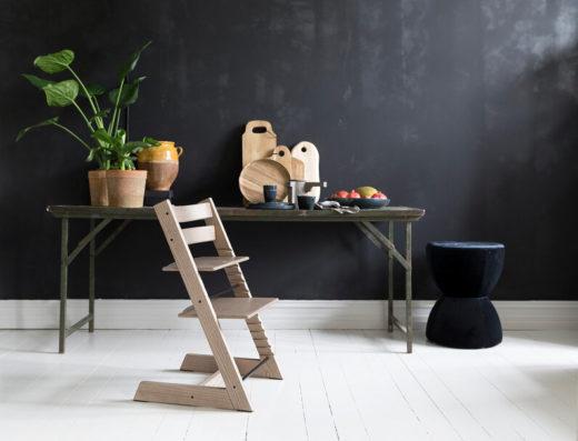 Новая лимитированная серия стульчиков Tripp Trapp® из ясеня: еще ближе к природе
