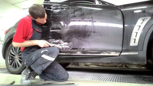 Кузовной ремонт автомобиля: причины, этапы, виды