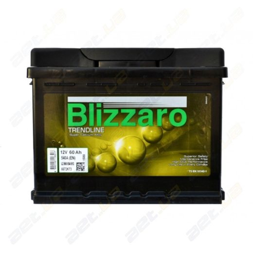 Автомобильные аккумуляторы Blizzaro