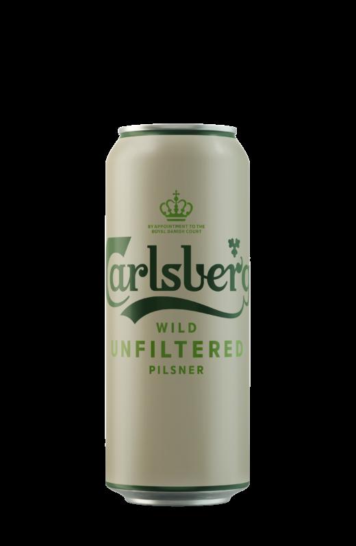 Carlsberg Wild Unfiltered: нефильтрованная новинка