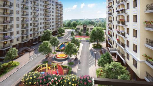 Новый жилой комплекс «Квартал Крюковщина»