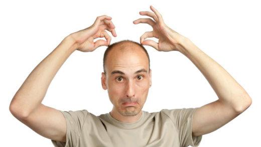 Почему происходит выпадение волос у мужчин