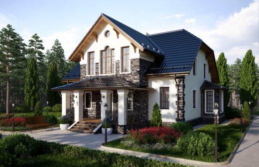 Загородный коттедж – индивидуальный стиль и комфорт по доступной цене