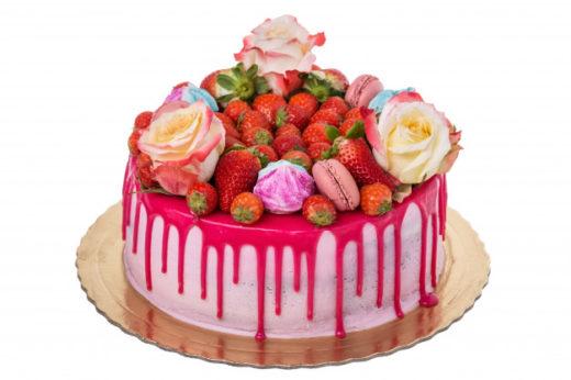 Ассортимент сахарных украшений: цветы, кружево, пряники