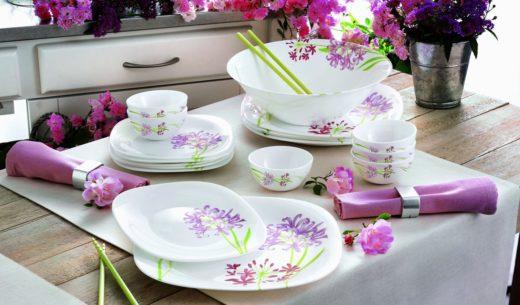 Посуда Luminarc - особенности французского бренда