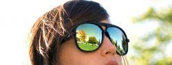 Очаровательные глазки и ослепительного солнца свет
