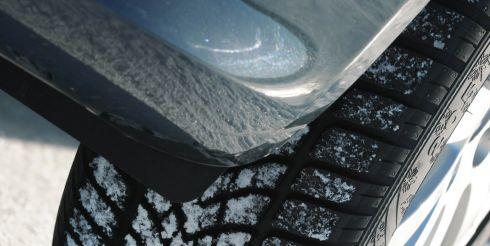 Шины зимние Goodyear эффективно справляются с управлением на сухих и мокрых покрытиях