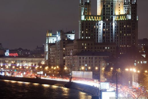 Москву признали мировым лидером по пробкам