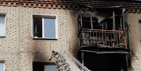 В борьбе с последствиями пожара