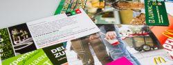 Преимущества рекламных листовок