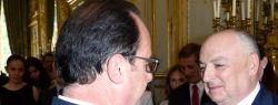 Вячеслав Моше Кантор удостоился высшей награды Франции