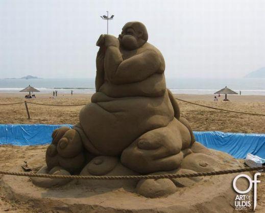 Песчаные скульптуры