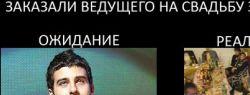 Не выбирайте такого ведущего на свадьбу в Киеве