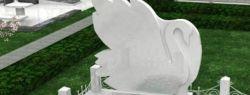 Белые памятники: как выбрать и ухаживать за изделием