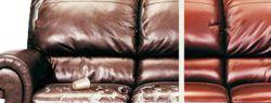 Особенности перетяжки мебели кожей