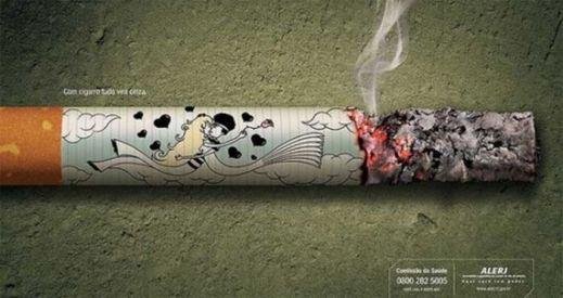 Креативная антитабачная реклама