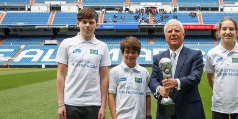 «Реал Мадрид» получил Кубок «Девяти ценностей»