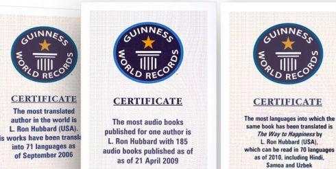 Л. Рон Хаббард. От уникальных открытий в области человеческого разума к мировым рекордам «Книги Гиннесса»
