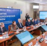 В онкологической больнице №1 провели круглый стол с участием Сергея Собянина