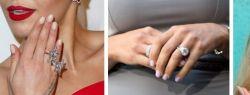 Серебряные кольца в ювелирном гардеробе знаменитостей