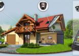Варианты видеонаблюдения для загородного дома