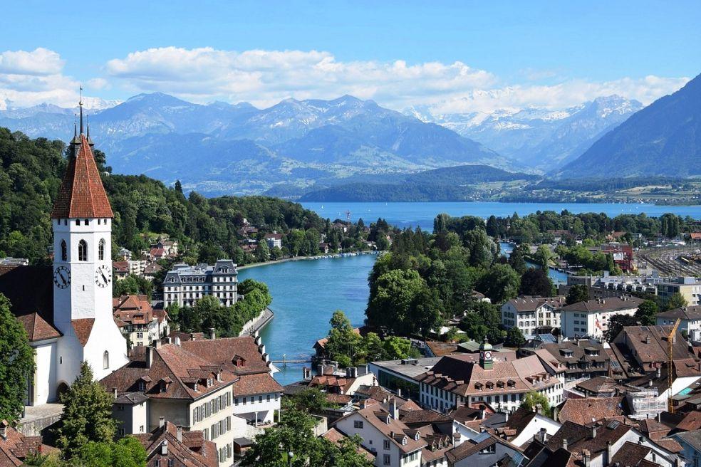 в швейцарских путеводителях