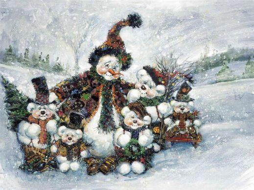 Рождественские иллюстрации от Стюарта Шервуда