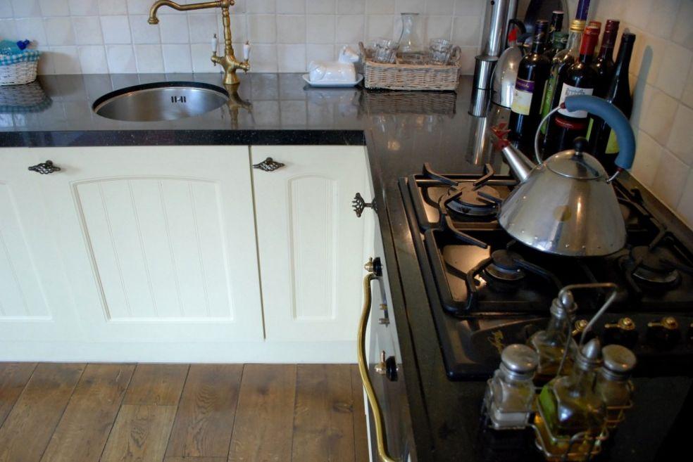 Кухня с оригинальными деталями