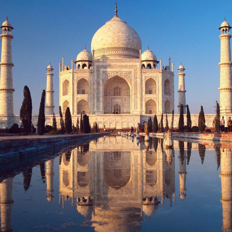 Тадж Махал в Индии