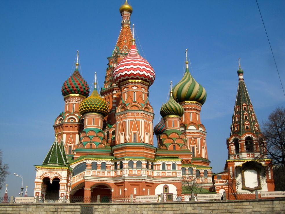 Собор Святого Василия Блаженного в Москве