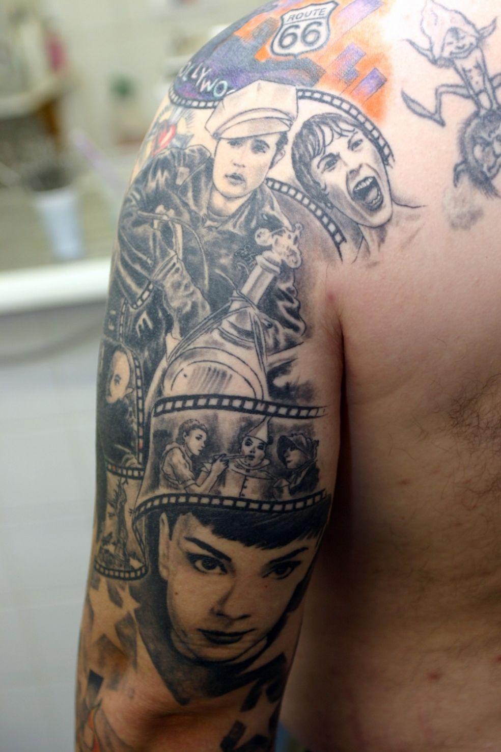 Татуировка кинофаната