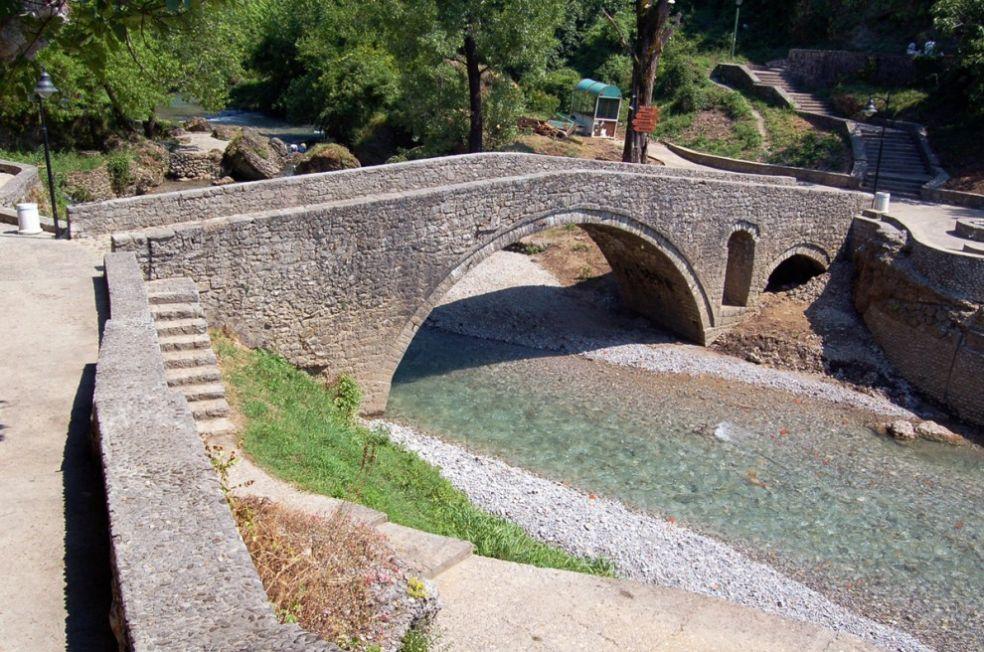 Парковый мост в Подгорице