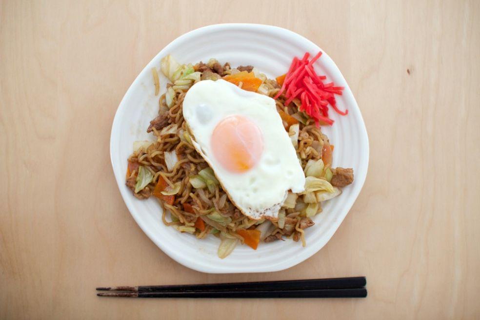 Японское рагу с яйцом